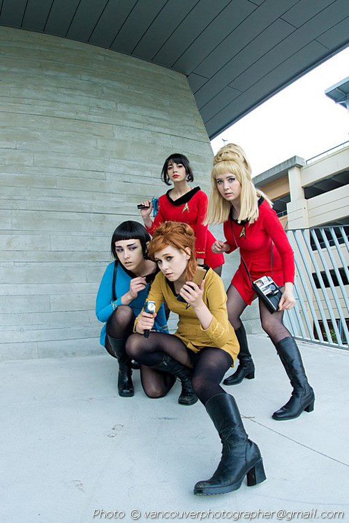 Star Trek TOS Group Cosplay