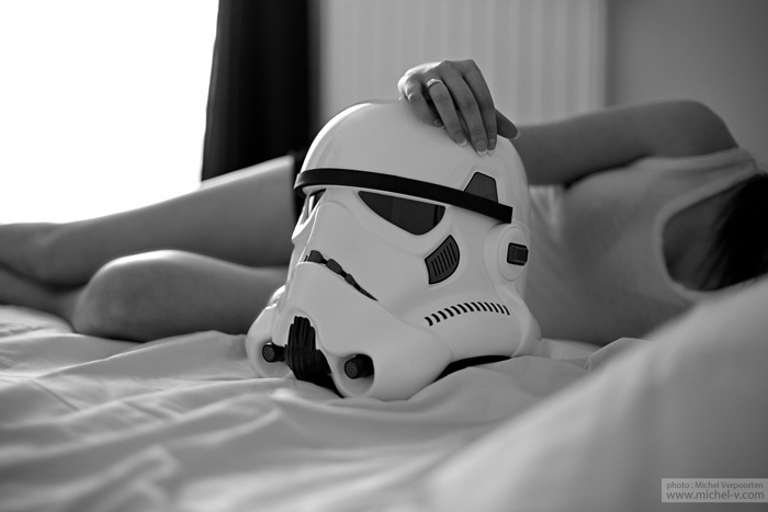 Star Wars Boudoir Photoshoot