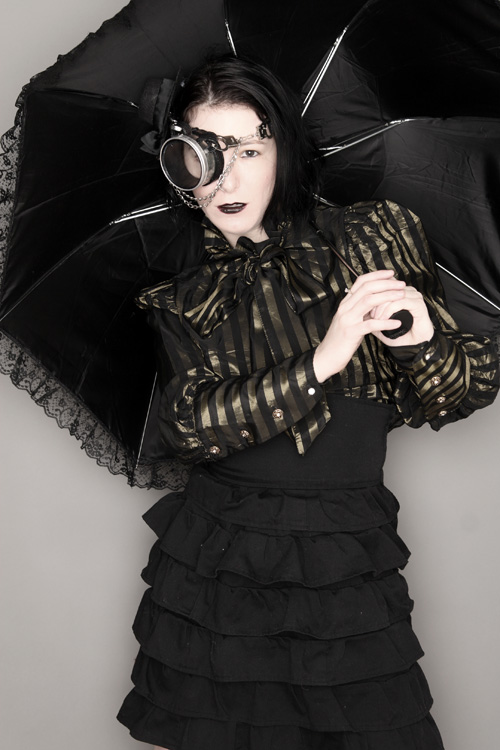 Gothic Steampunk Photoshoot