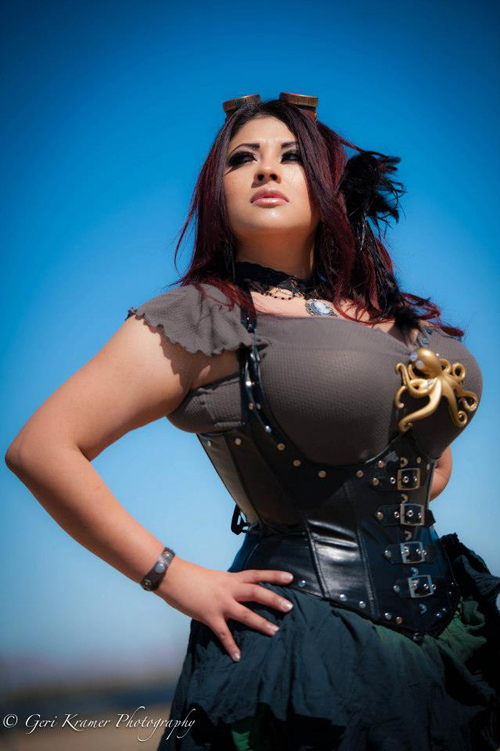 Steampunk Fashion Photoshoot