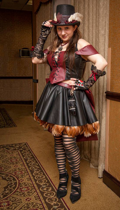 The Ste&unk World  sc 1 st  Geek X Girls : steampunk cat costume  - Germanpascual.Com