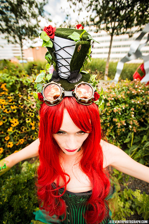 Steampunk Poision Ivy