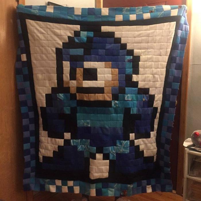 Geeky 8-bit Blankets