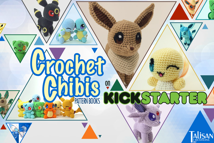 Crochet Pokemon Pattern Book