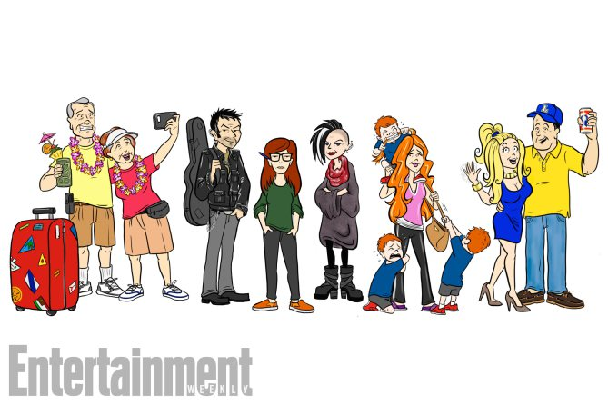 Daria Creator Reimagines Cast 20 Years Later