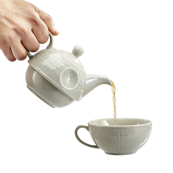 Star Wars Death Star Teapot & Mug