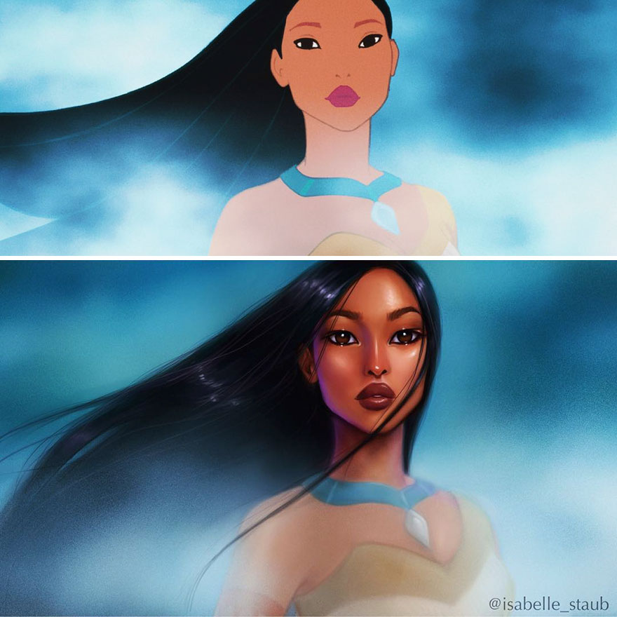 Painted Disney Princesses Fan Art