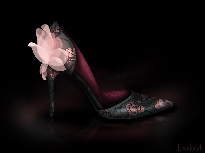 Disney Princess Inspired Heel Designs