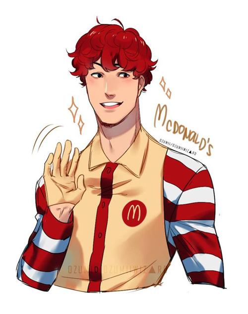 Fast Food Fan Art