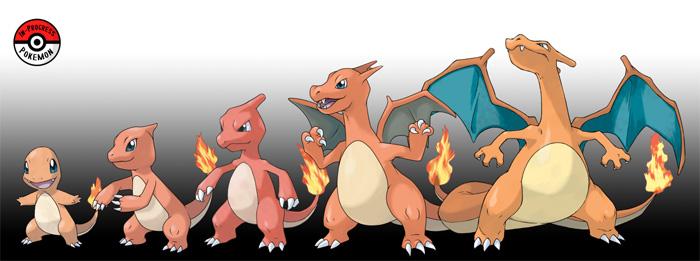 What if Pokemon Grew Rather Than Evolved?