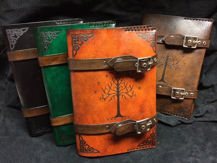 Lord of the Tings Tree of Gondor Leather Book Cover