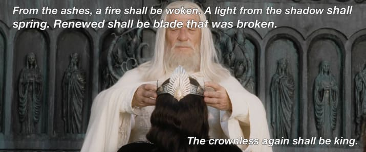 Inspirational and Wise Lord of the Rings Quotes