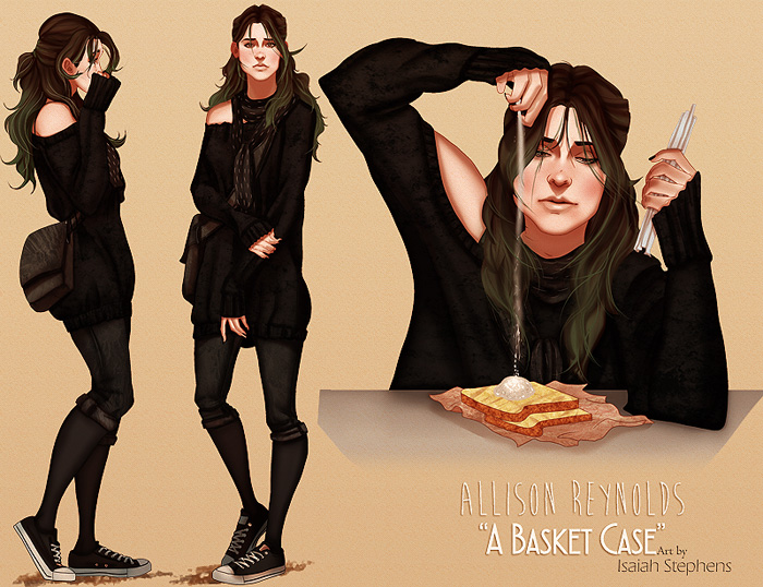 Modern Breakfast Club Fan Art Redesigns