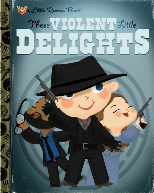 Geeky Pop Culture Kids Book Covers