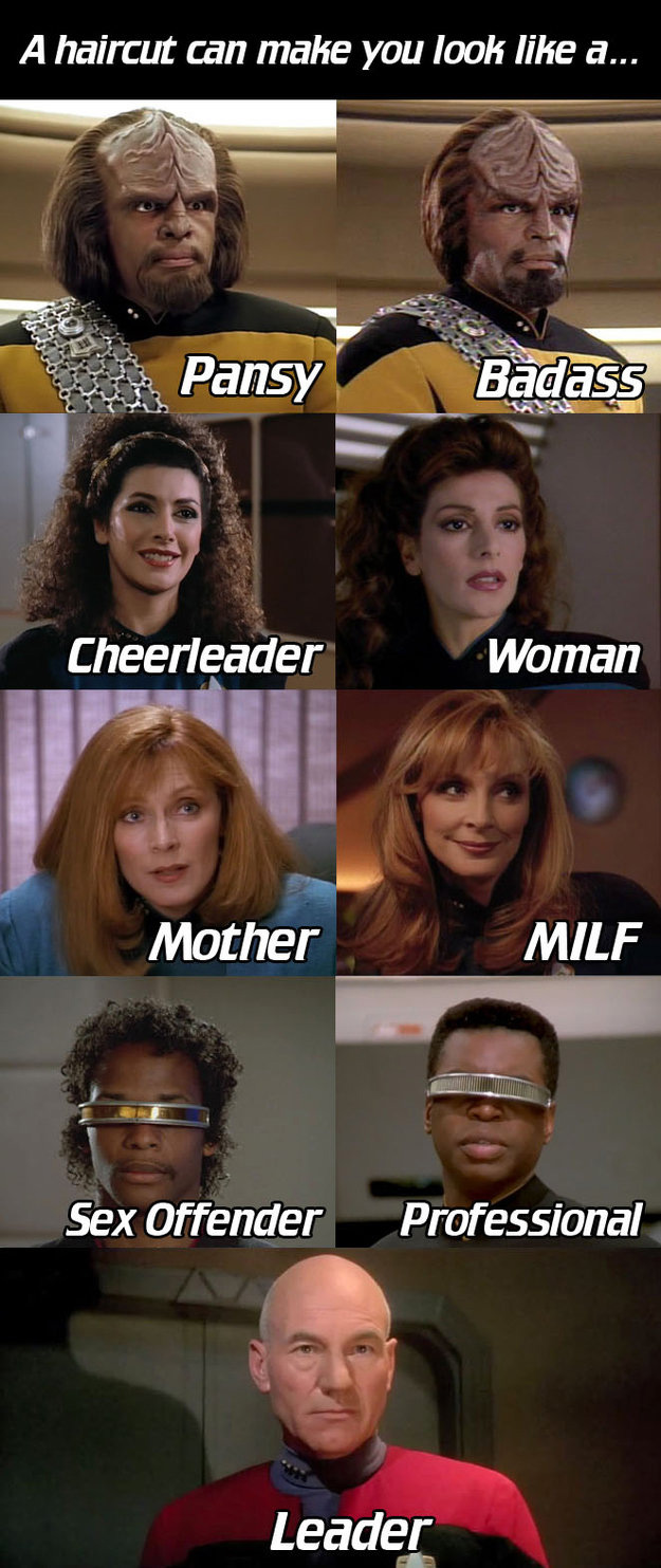 Star Trek Haircuts
