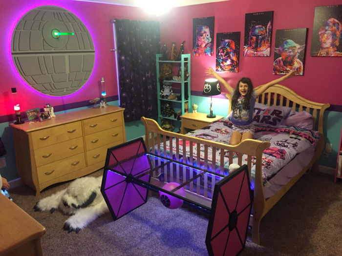 Star Wars Fangirl Bedroom