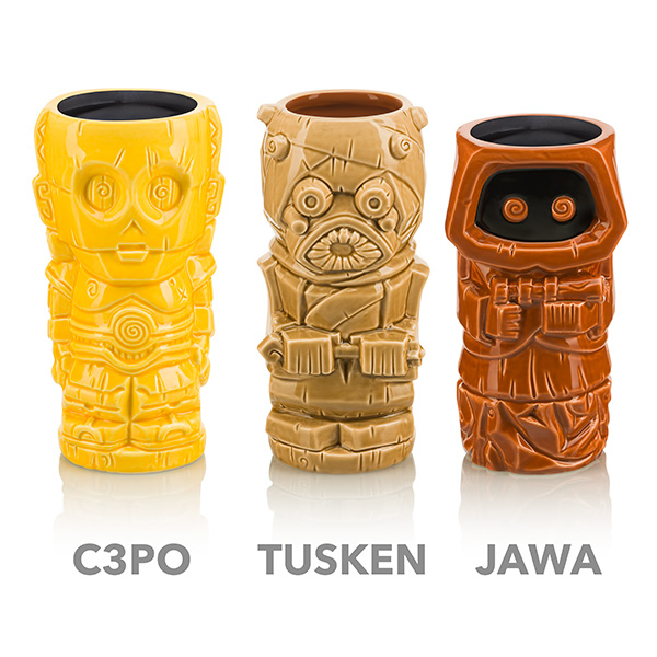 Star Wars Geeki Tiki Mugs - Series 2