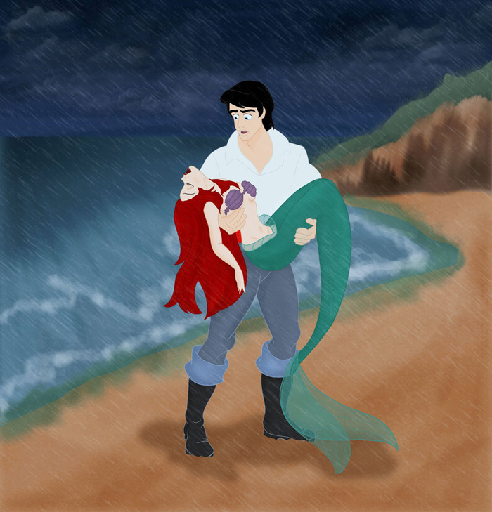 Evil Little Mermaid Disney Tragic T...