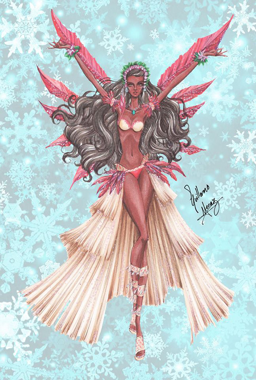 Victorias Secret Disney Princesses Designs Part 2