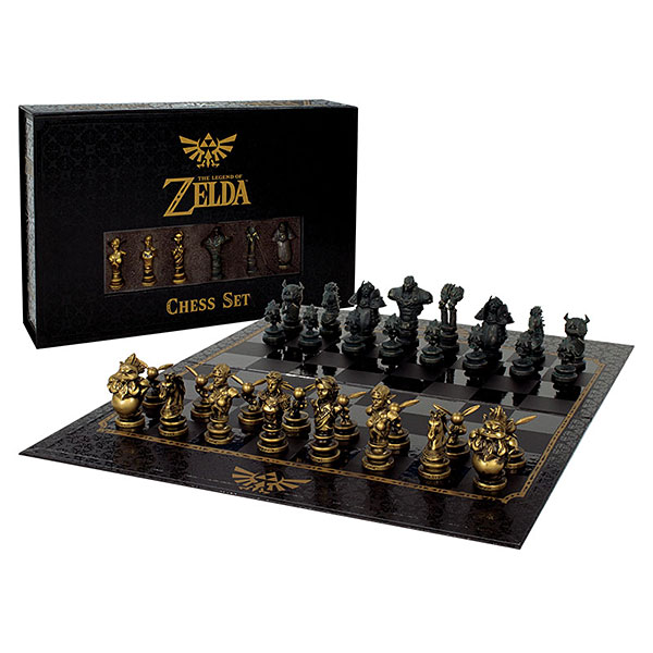 The Legend of Zelda Collectors Chess Set