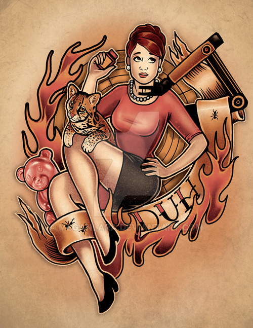 Archer Ladies Pinups