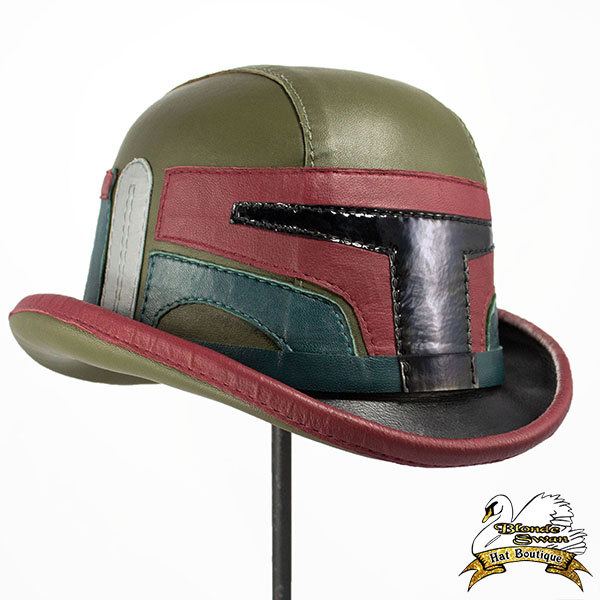 Boba Fett Leather Bowler Hat