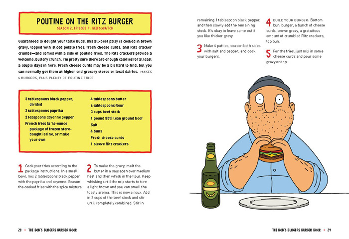 The Bobs Burgers Burger Book