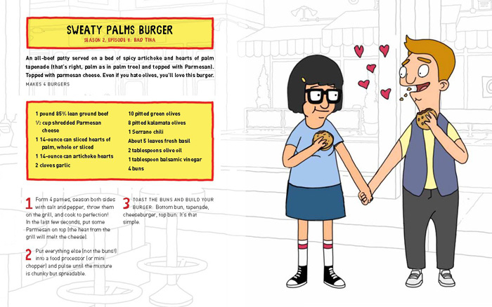 The Bobs Burgers Burger Book