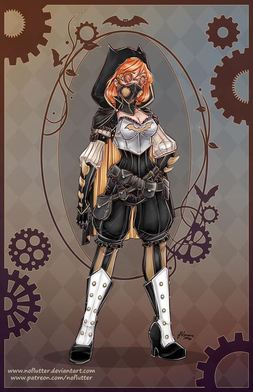 Victorian / Steampunk DC Superheroine Redesigns