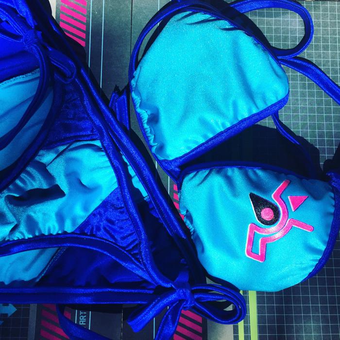 Custome Made Geeky Bikinis