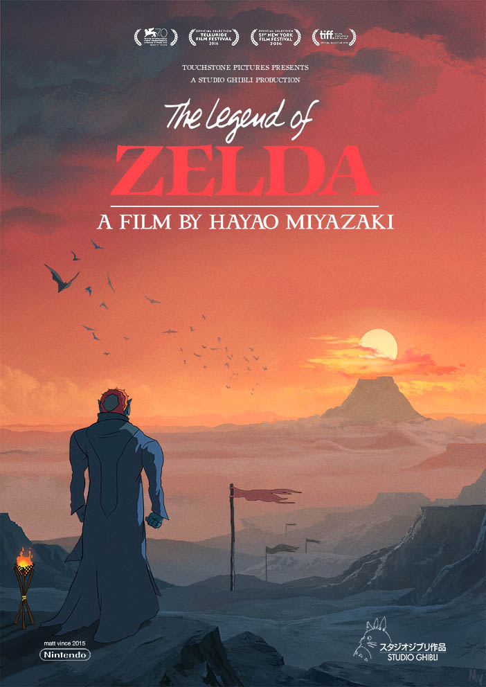 If The Legend of Zelda Was a Studio Ghibli Movie