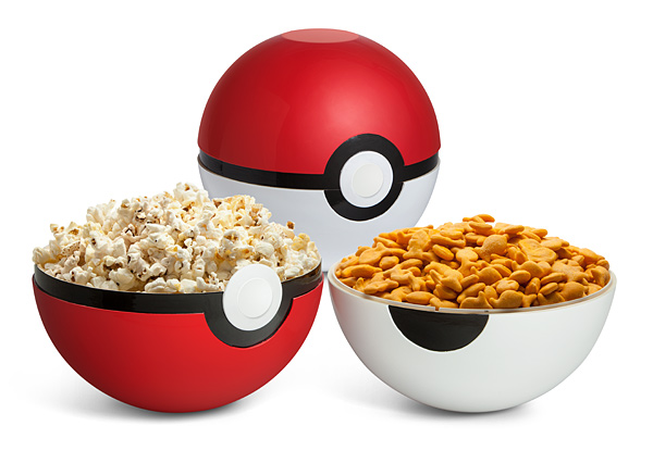 Poke Ball & Pokemon Bowls