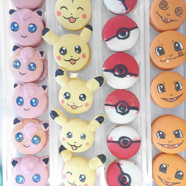 Pokemon Macaroons