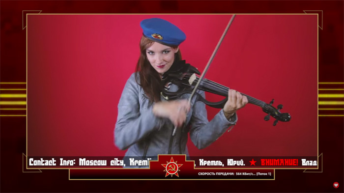C&C Red Alert 3 Theme - Soviet March Violin Cover