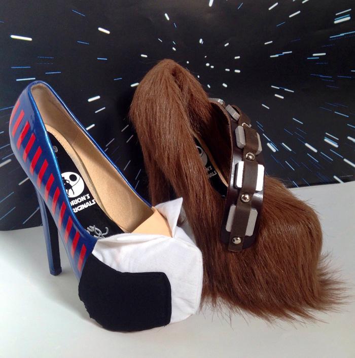 Star Wars Han Solo & Chewbacca Heels
