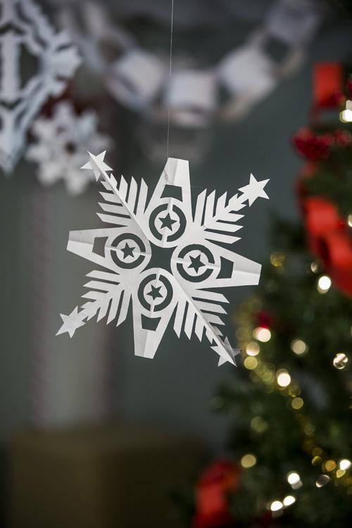 Superhero Snowflakes