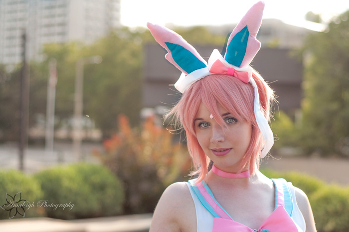 Sylveon Pokemon Sailor Scout Cosplay