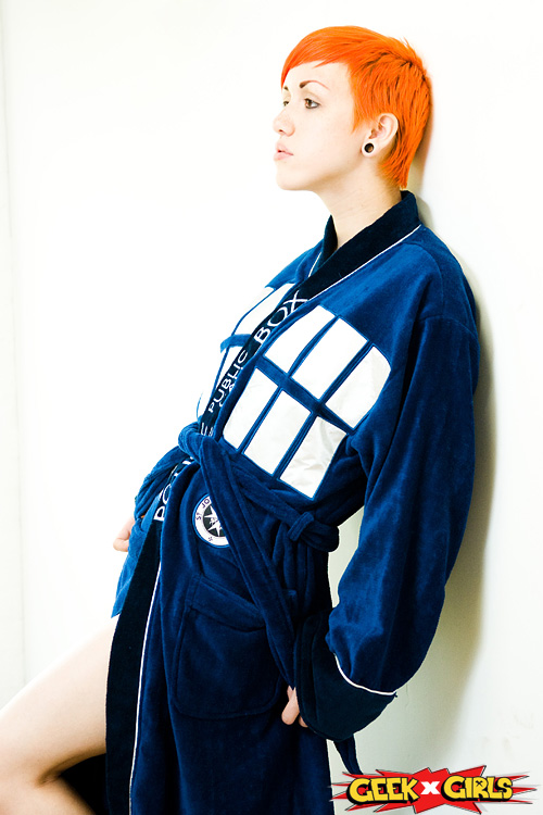TARDIS Robe Photoshoot