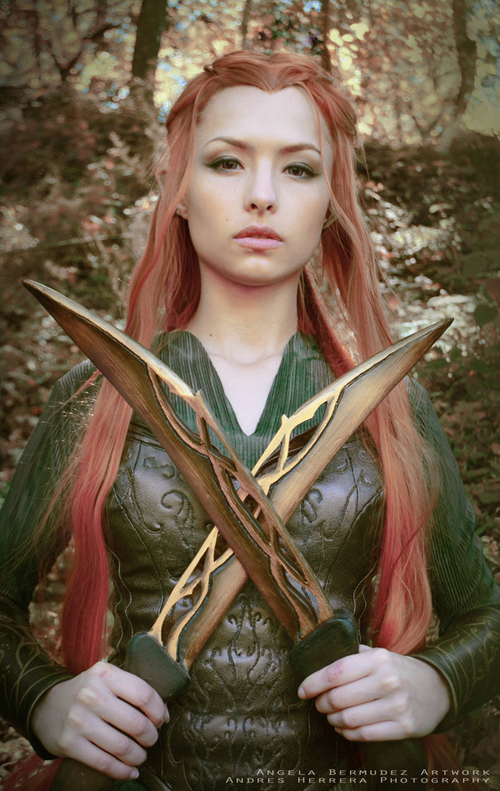 Orlando Bloom The Hobbit Evangeline Lilly Legolas Tauriel The