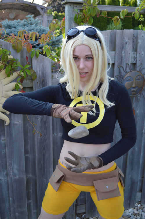 Terra from Teen Titans Cosplay