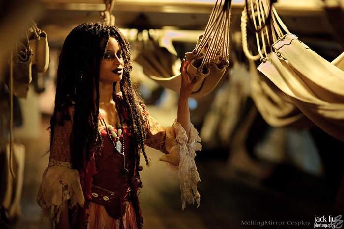Tia Dalma Cosplay - Pirates of the Caribbean