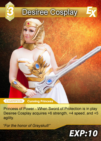 Geek Girls Cosplay Trading Cards