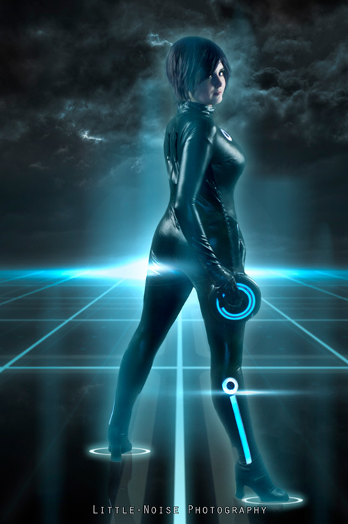 Tron Cosplay on Original Model A Parts