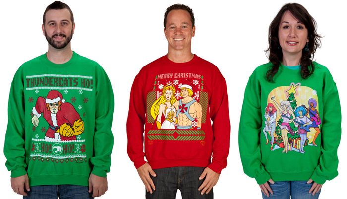 ugly christmas sweaters geek style