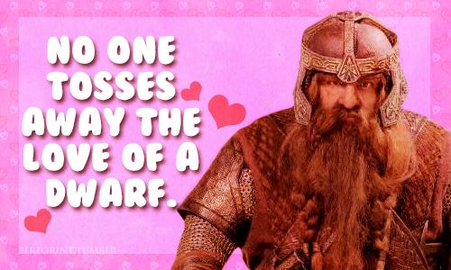 The Hobbit Valentines Cards