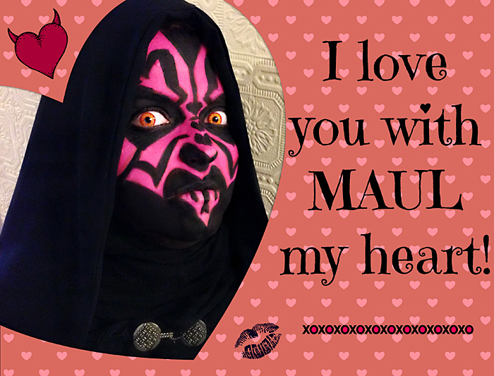 Happy Valentines Day from Geek Girls