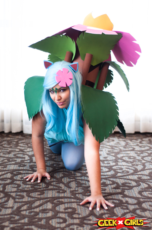 Venosaur Pokemon Cosplay