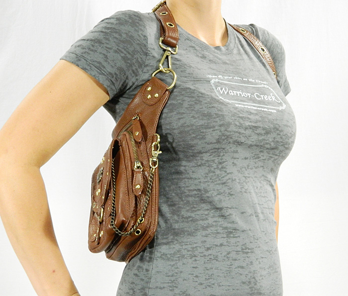 Warrior Pack Purse Can Be Worn 8 Different Ways