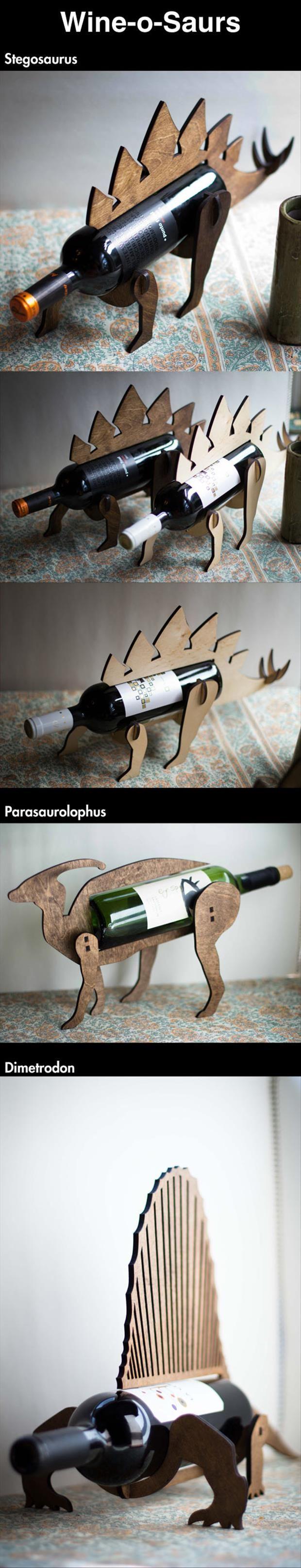 Dinosaur wine racks wine o saurus - Dinosaur wine holder ...