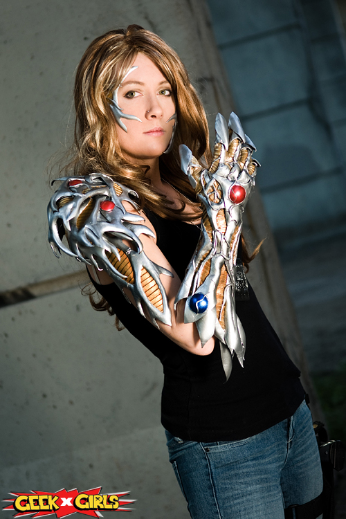 cosplay Girl witchblade